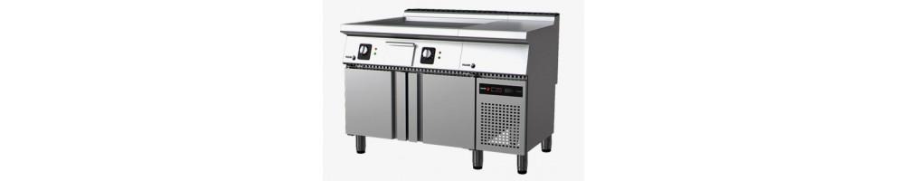 Equipamiento modular para grandes cocinas de fondo 93 cm.